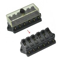 SODIAL blade fuse box 6 WAY FUSE HOLDER BOX CAR VEHICLE CIRCUIT BLADE FUSE BOX BLOCK R FREE FUSE US