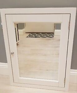 Roper Rhodes Hampton 565mm chalk white mirror cabinet  RRP£363