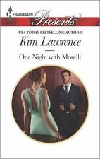 One Night with Morelli by Kim Lawrence 2014 Paperback