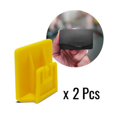 Clip per Telepass 2019 Sistema di Fissaggio Removibile, 3 x 3 cm, 2 Pezzi