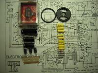 Kit complet pour restauration electrophone,tourne disque Teppaz 336