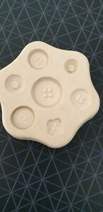 Glass, silicone mould, wax melts, bath bombs, soap, fimo clay, Large Buttons