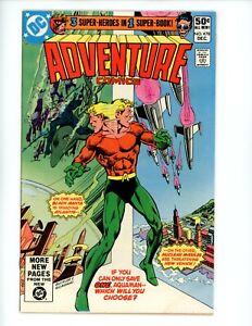 Adventure Comics #478,VF+, 1980