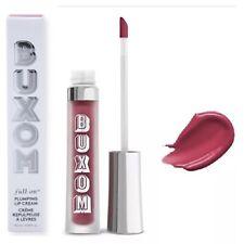 Buxom Full-On Lip Plumping Cream Gloss in Goa Gimlet (Berry) New In Box Full Sz