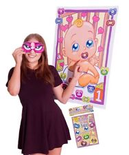 Pin Stick the Dummy on the Baby Shower Mum to Be Game Party 12 Guests Players