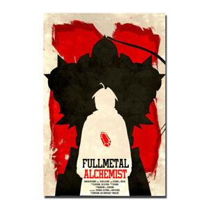 Fullmetal Alchemist Anime Silk Canvas Poster 13x20 32x48 inch
