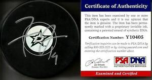 Tyler Seguin DALLAS STARS Signed Auto Puck PSA/DNA COA #5