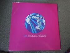 """U2 Discotheque RARE Promo 12"""" Single"""