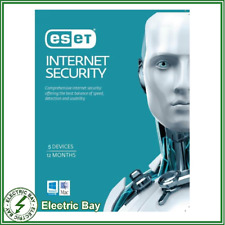 ESET Internet Security 5 Device 1 Year License Digital Key Send Within 24 Hours