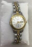 Citizen President 1002-r15119 RC Womens 2-toned Day Date Quartz Bracelet Watch