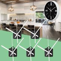 5x DIY White Hands Wall Quartz Clock Movement Mechanism Repair Tools Kit Home
