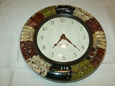 "First Time Clock Different Beans Kitchen Clock Decor 8"""