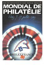 Mondial de Philatélie Philexfrance 1989