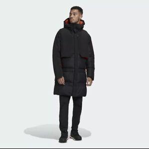 Adidas Myshelter Cold.RDY Parka Orange/black Men's Size 2XL FR9527