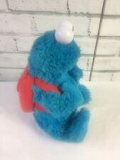 Sesame Talking Count and Crunch Cookie Monster with Backpack and 1 Cookie