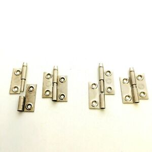 """Small Reflex Lift Off Cabinet Hinges Left / Right Handed 36mm-1.5"""" Nickel Plated"""