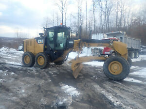 2015 Caterpillar 140M3 Motor Grader LOW HOURS! CAT Joystick A/C Camera 140M