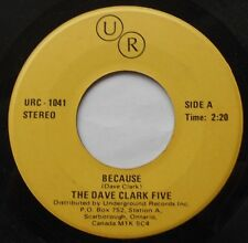 *DAVE CLARK FIVE Because  / Any way you want it Ex to NM- CANADA Reissue 45
