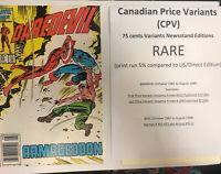 Daredevil (1986) # 233 (NM) Canadian Price Variant (CPV)  !! Frankie Miller!