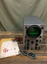 EICO Oscilloscope DC-WIDE BAND Model 460 -Scope Demodulator Manuel As Is