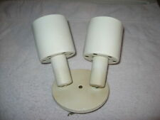 Vintage Swivelier 2 Arm Canopy Spot Light Ceiling Fixture