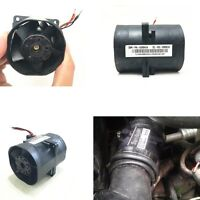 New 76mm 3.2A Electric Turbine Turbo Double Fan Super Charger Boost Intake Fans