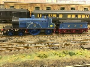 Tri-ang OO Gauge Caledonian 4-2-2 Locomotive