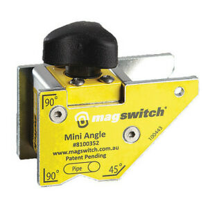 Magswitch 8100352 Welding Angle,90 Lb. Max. Pull,Steel