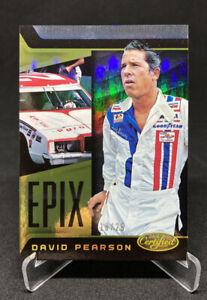 2016 Panini Certified Racing David Pearson Epix Gold /25 NASCAR
