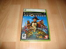 CIVILIZATION REVOLUTION ESTRATEGIA DE FIRAXIS PARA LA XBOX 360 NUEVO PRECINTADO
