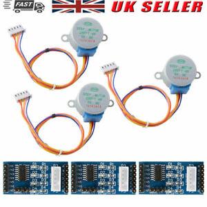 3Pcs/Set 28BYJ-48 DC 5V Stepper Motor+ULN2003 Motor Driver Board For Arduino UK