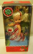 #5286 Nrfb Mattel Kelly Club Peppermint Kelly Ornament Doll