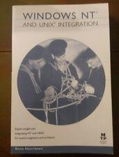 Windows Nt and Unix Integration By Gene Henriksen