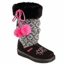 sketchers twinkle toes black boots size 1