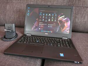 """Dell Latitude E5550 15.6"""" i5-CPU 8GB RAM 500GB SSHD Windows 11 Pro + FingerPrint"""