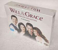 WILL AND GRACE Seasons 1 2 3 4 5 6 7 8 DVD 32-DISC Set Region 4 PAL oz seller