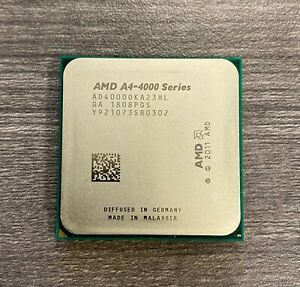 AMD A4-Series A4-4000 3.0ghz Dual Core Socket FM2 Processor OEM Ver.