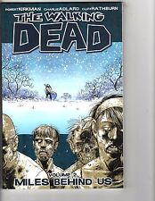 The Walking Dead Vol 2 Miles Behind Us Image Comics Graphic Novel 2nd Print AK1