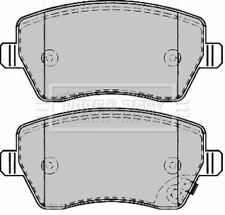 BORG BBP2166 BRAKE PAD SET DISC BRAKE Front