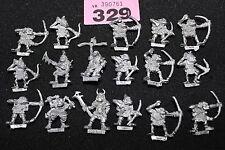 Games Workshop Citadel rrd4 harboth De Orco Arqueros 17 Metal Figuras ejército Regimiento