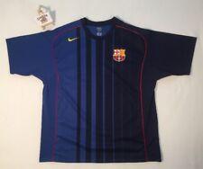 Nike Total 90 Barcelona Fc Camisa 2004/2005 Camisa De Jersey lejos XXL Camiseta Trikot