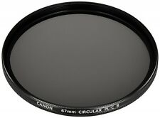 Canon Camera Polarizing Filter PL-C B 67mm Genuine Japan Import With Tracking