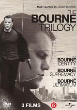 THE BOURNE TRILOGY TRILOGIE : BOURNE IDENTITY - SUPREMACY - dvd box set - sealed