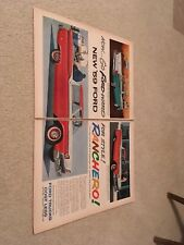 Original 1959 Ford Ranchero Ad