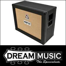 "Brand New Orange PPC212OB Open Back 2x12"" Black Finish Speaker Cabinet RRP$1099"