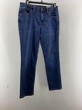 jag jeans womens slim ankle jeans sz 8 blue medium wash
