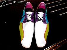Zapatos para hombre multicolor en findig Rockabilly cualquier diseñador de cuero Talla 42 GC