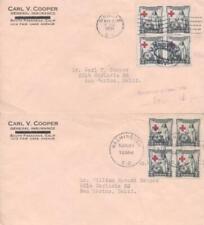 702 2c RED CROSS 1931 - Carl Cooper Insurance - 2 cities