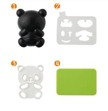 Panda Rice Sandwich Cutter Sushi Mold Bento Maker Seaweed Nori Kitchen Tools