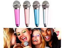 SCHEGGIA MINI 3,5 mm microfono per PC Laptop Skype Desktop studio discorso